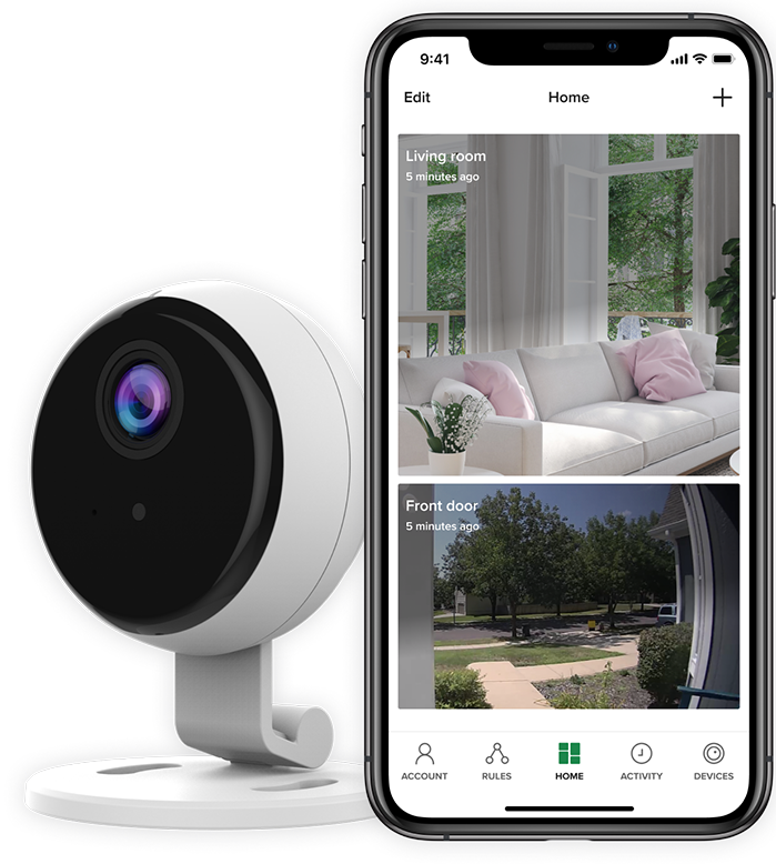 The Otis smart and affordable video-based security connects with a top security provider in your area.