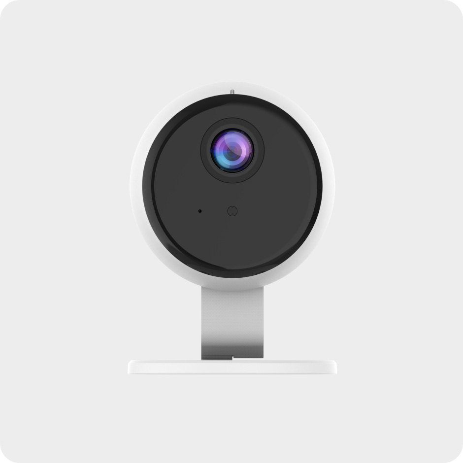 The Otis security camera connects with a top security provider in your area